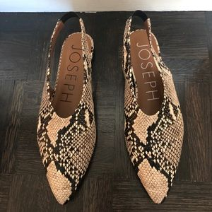 Shoes - Joseph Python pointed flats Celine